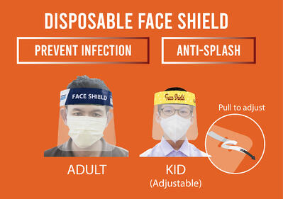 Adult and Kids Face Shield