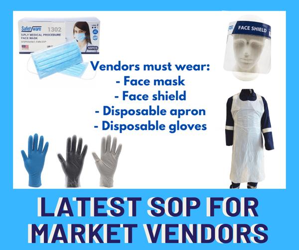 Latest SOP for Market Vendors