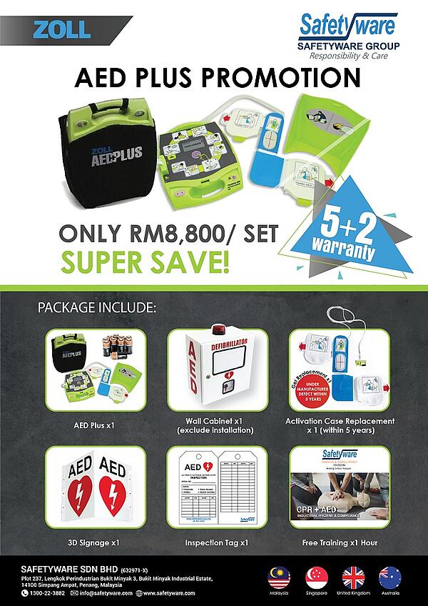 Safetyware ZOLL AED Plus Promotion 2020
